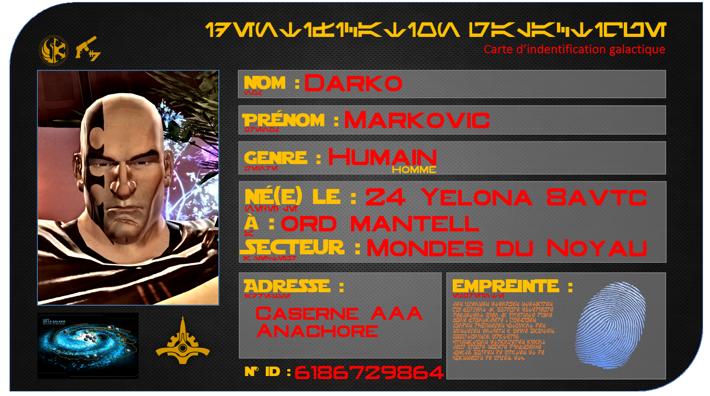 Carte ID Darko